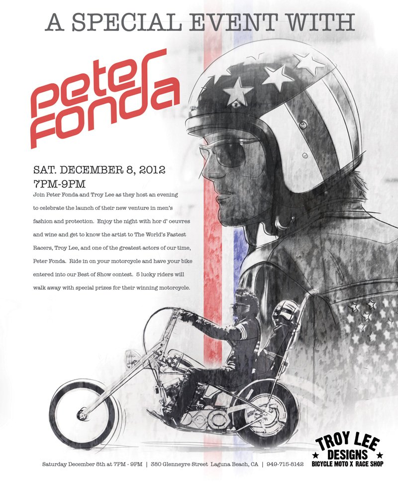 Invitation to Join Peter Fonda and Troy Lee