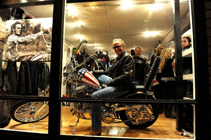 Launch of Peter Fonda Collection – Troy Lee Event, Laguna Beach