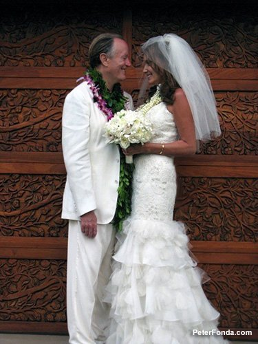 Parky and Peter Fonda Wedding in Hawaii 1