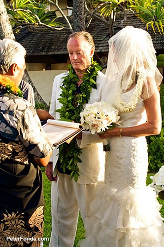 Parky and Peter Fonda Wedding in Hawaii 2