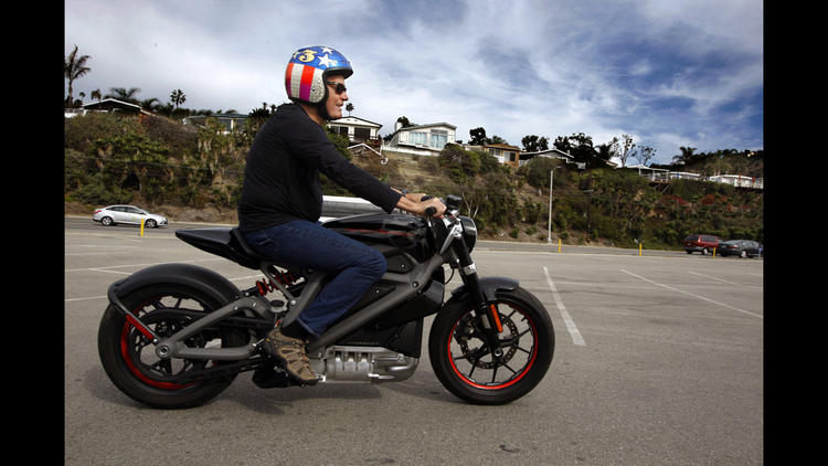 Peter Fonda goes electric — on a Harley-Davidson LiveWire