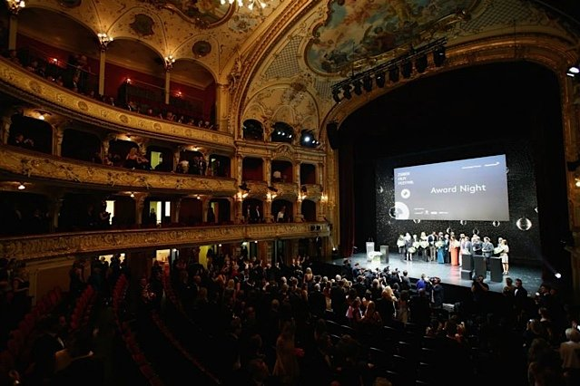 Inside the Zurich Opera House closing night award ceremony for the Zurich Film festival 2014!