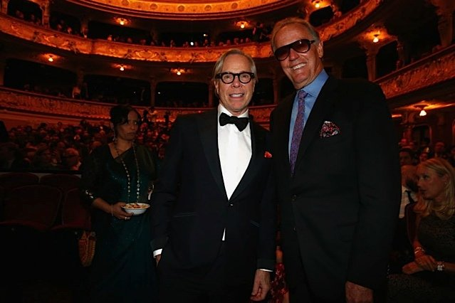 Tommy Hillfinger and Peter Fonda at Zurich Film Festival 2014 Closing Ceremony