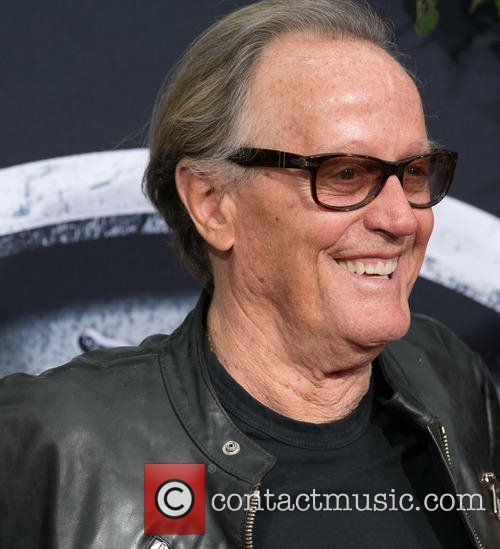 Peter Fonda at the Premiere of Universal Pictures Jurassic